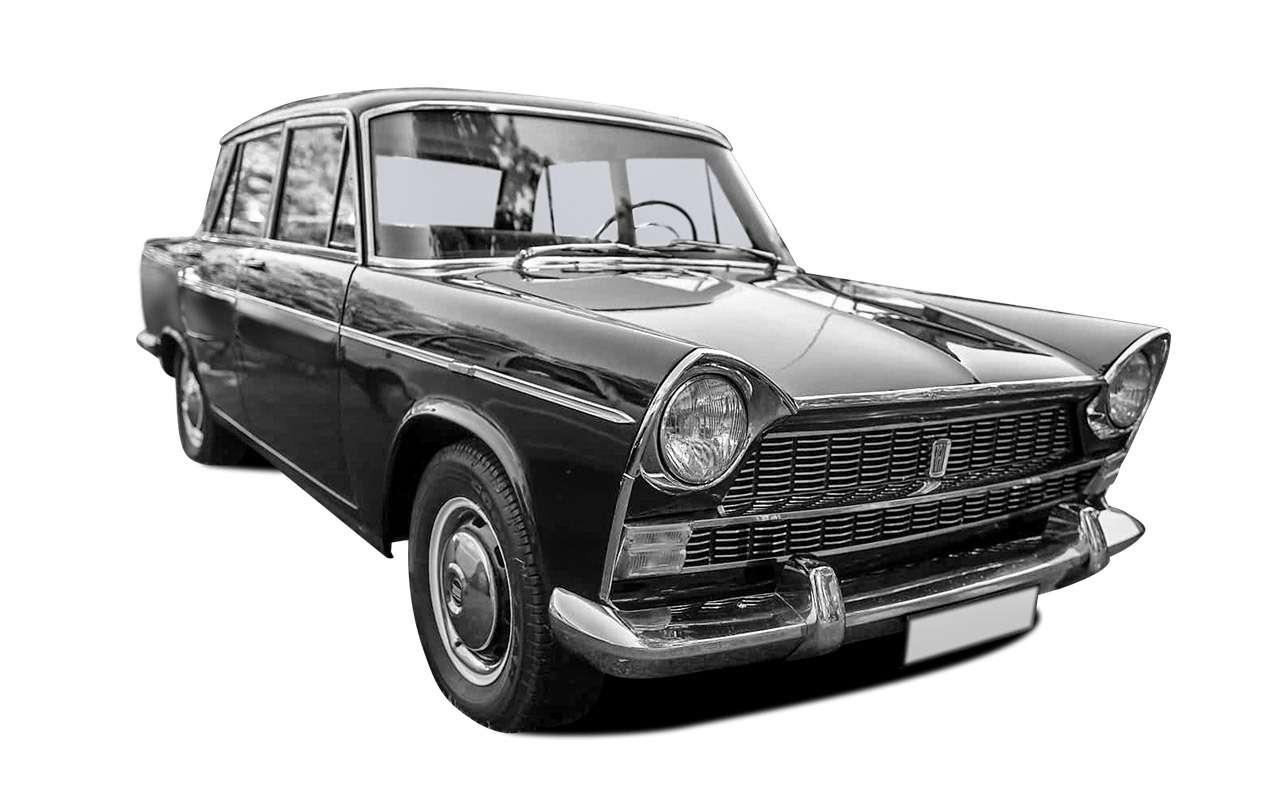 Fiat? BMW? Opel? — с чего срисовали Москвич-408/412 — фото 1083232