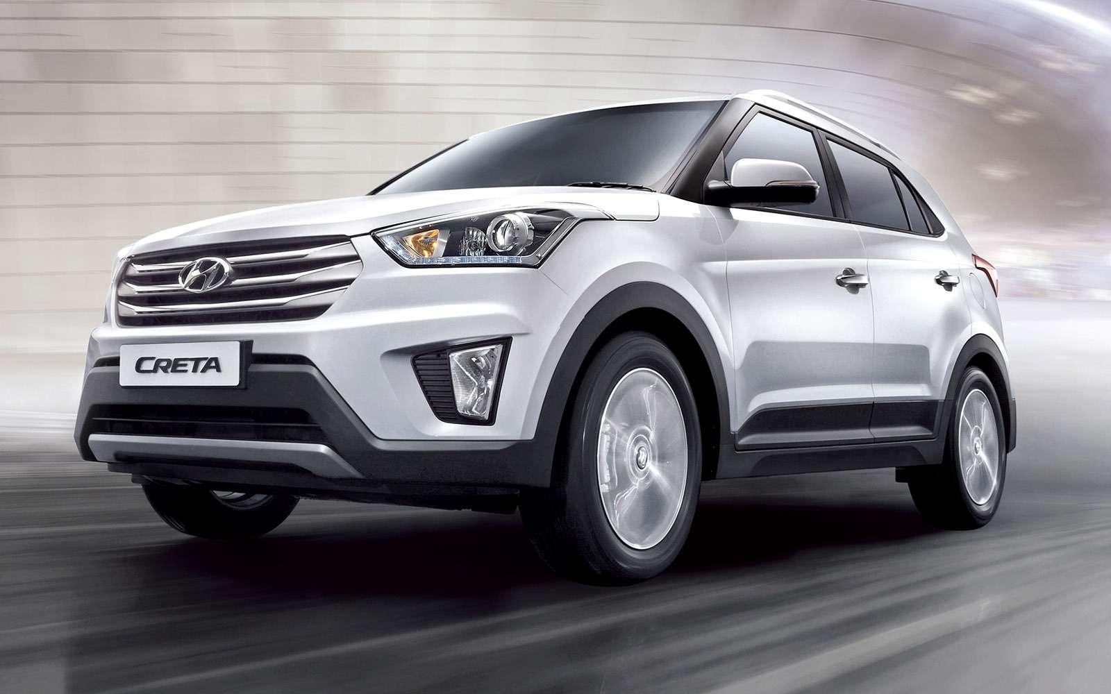 Hyundai Creta или Renault Kaptur: какой кроссовер выбрать?— фото 611170