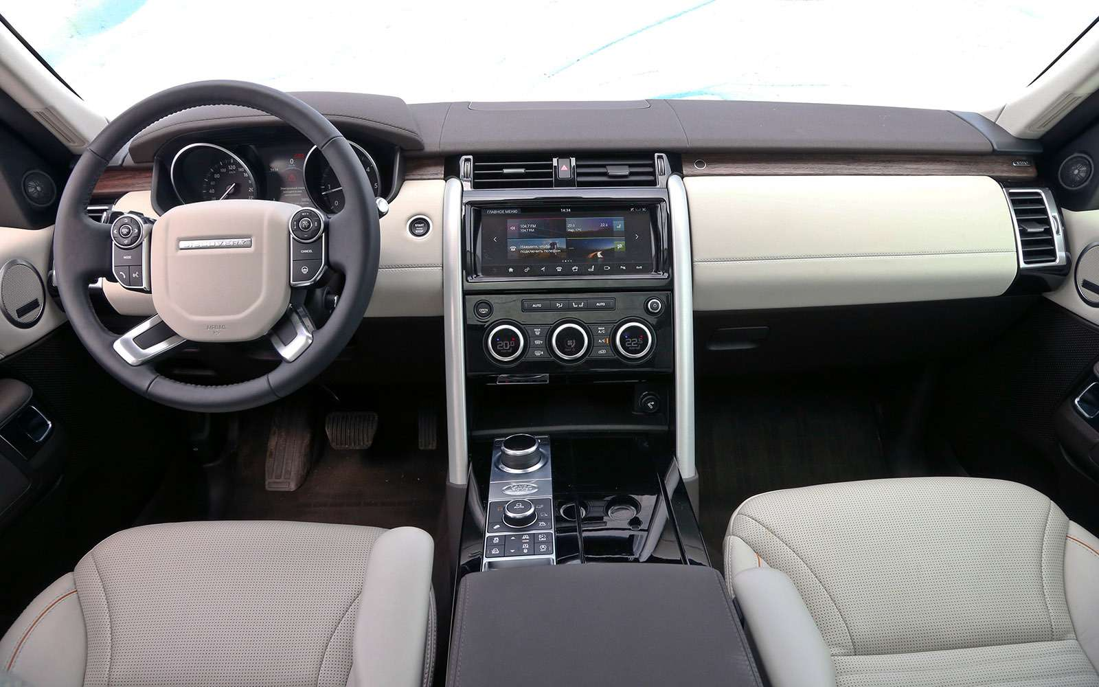 Новый Land Rover Discovery против конкурентов— тест ЗР— фото 784660