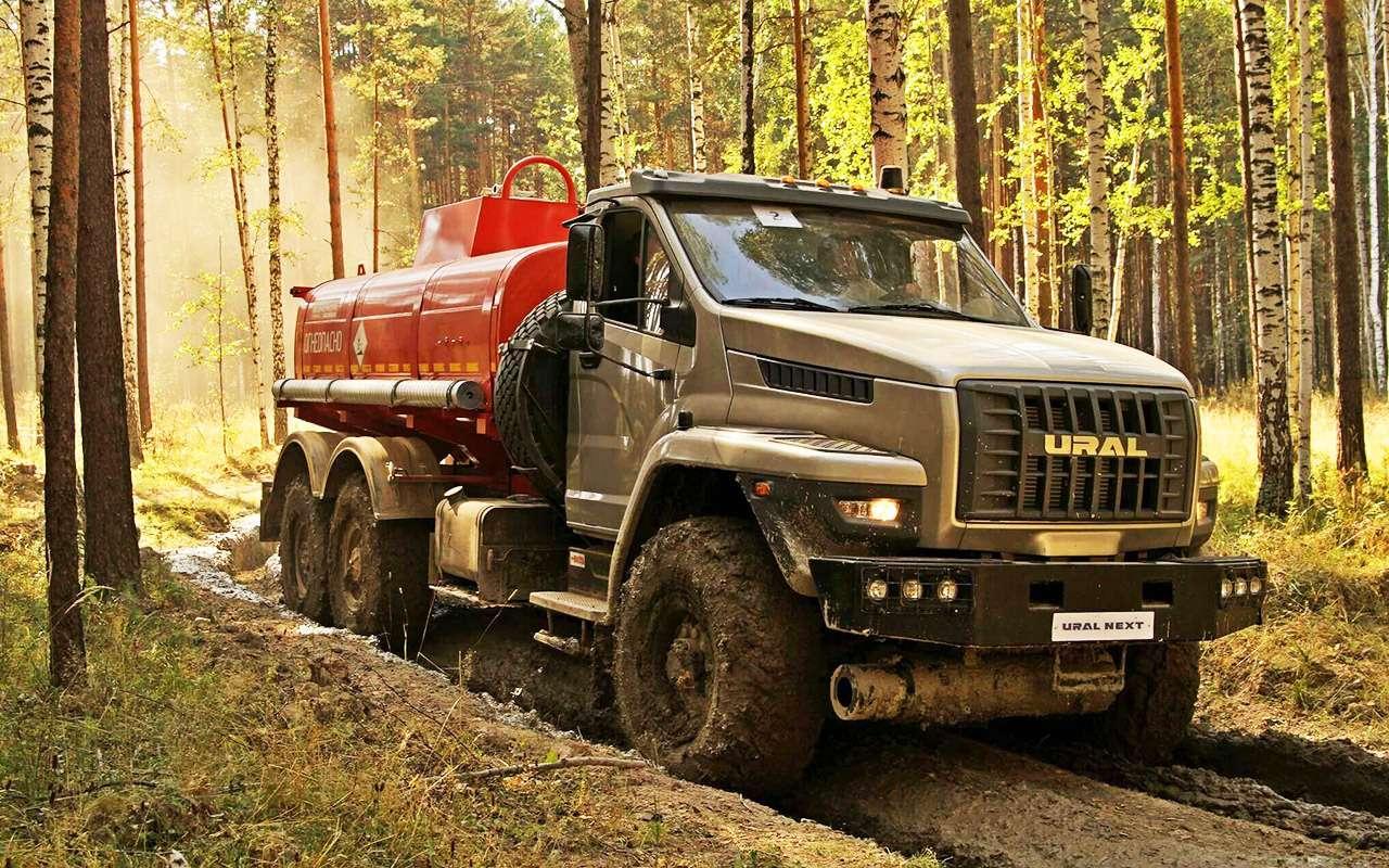 Суровый русский «проходимец»: история грузовика Урал— фото 992849