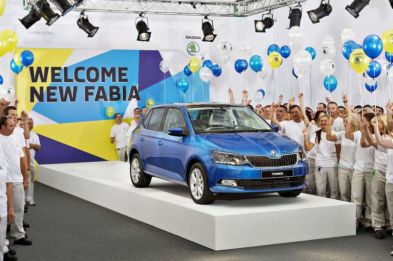 140828 New SKODA Fabia — Start of Production 001