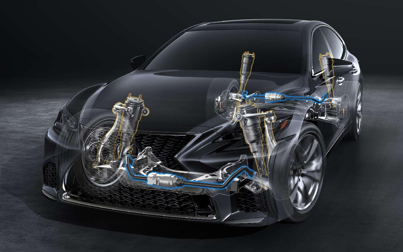 Выход третий, спортивный: Lexus LSFSport отпразднует премьеру вНью-Йорке— фото 735343