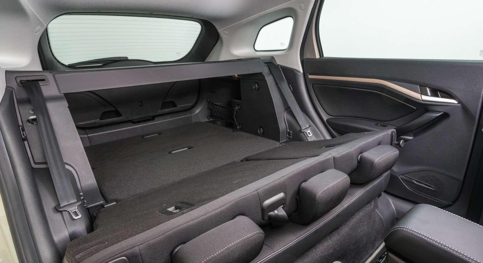 Багажник универсала Lada Vesta SW