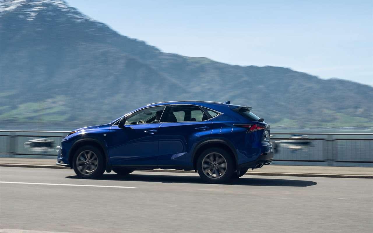 Обновленный Lexus NX— первый тест-драйв— фото 864453