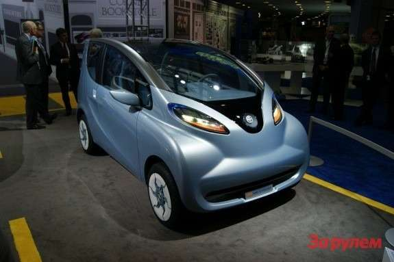 Tata eMO EV concept side-front view