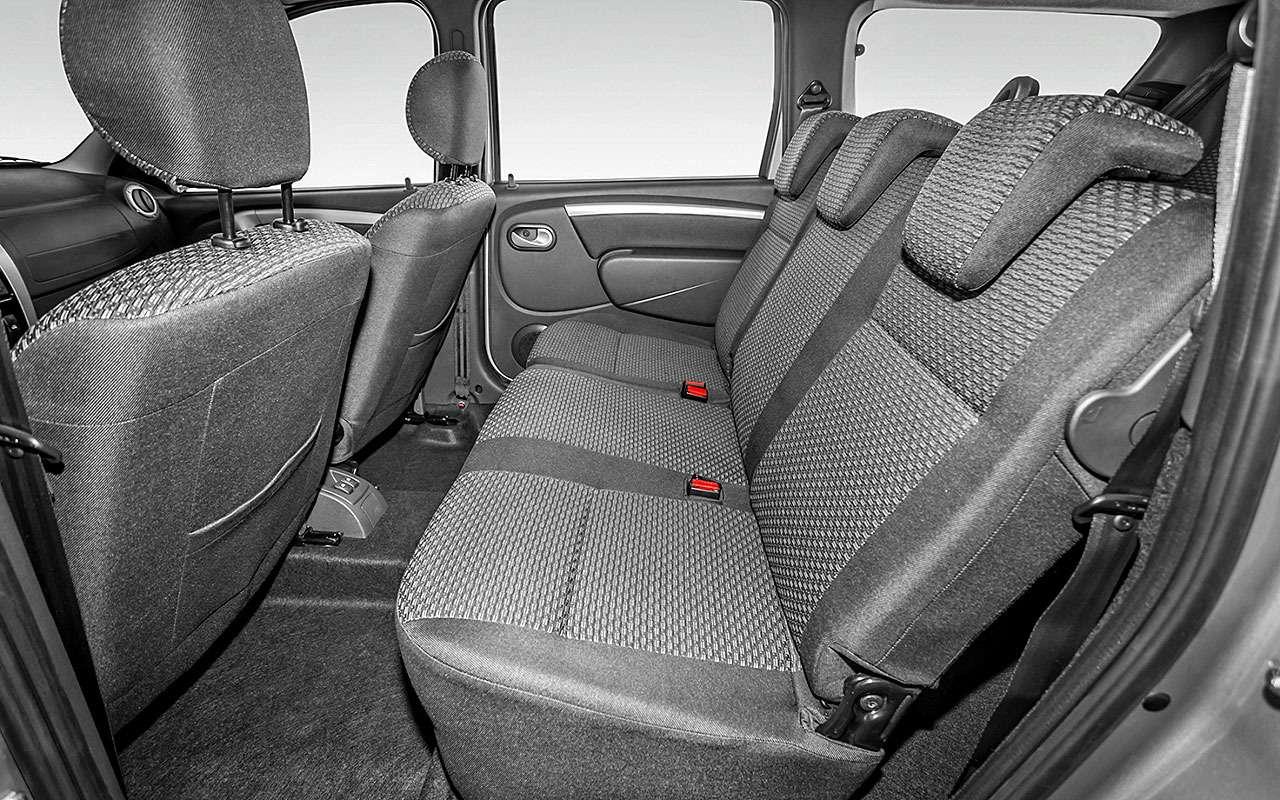 Базовая Lada Vesta SW или нафаршированный Largus - что выбрать? — фото 828170