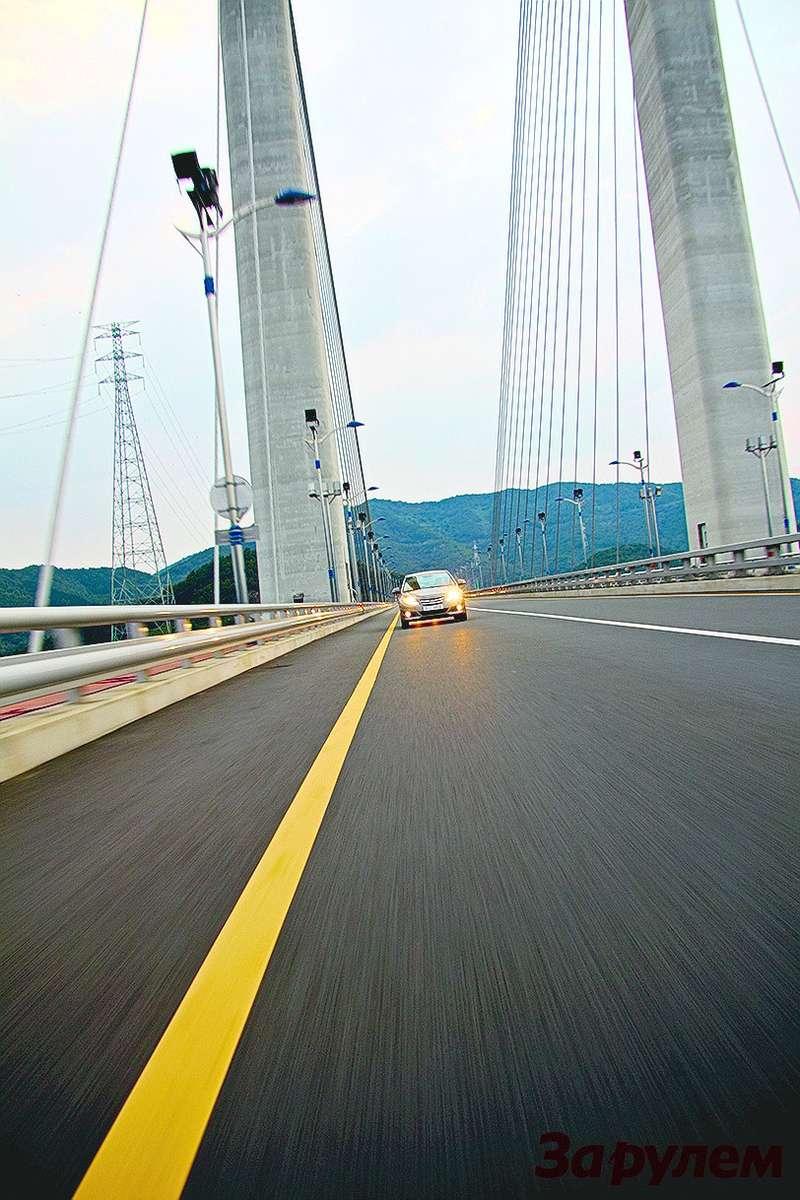 Развитая дорожная сеть, множество мостов итоннелей внушают оптимизм иуверенность вавтомобильном завтра Южной Кореи.
