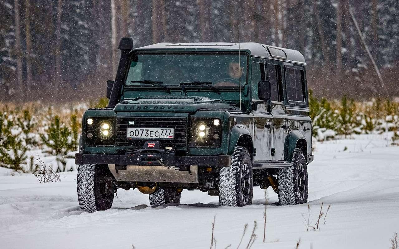Land Rover Defender: тест сразницей в40лет— фото 1247867