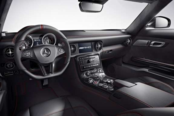Mercedes-Benz SLS AMG inside 3