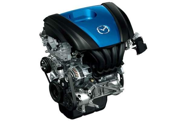 Mazda Skyactiv G1,3 direct-injection gasoline engine