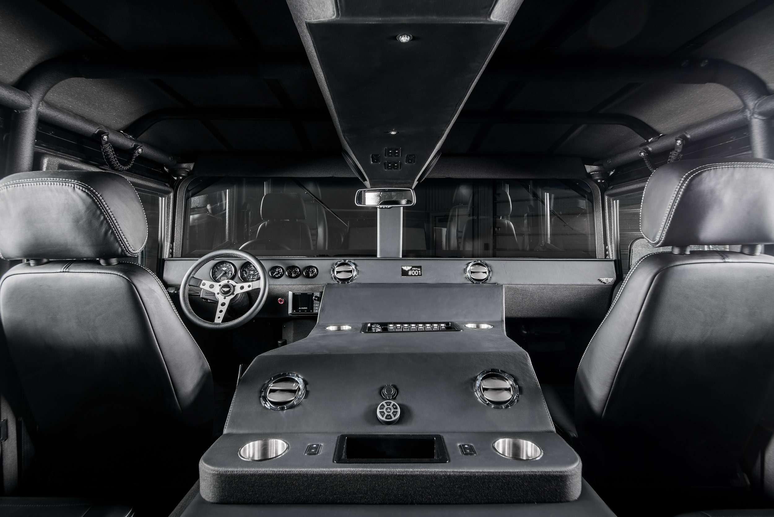 Возвращение «кувалды»: улучшенный Hummer H1поступил впродажу— фото 894620