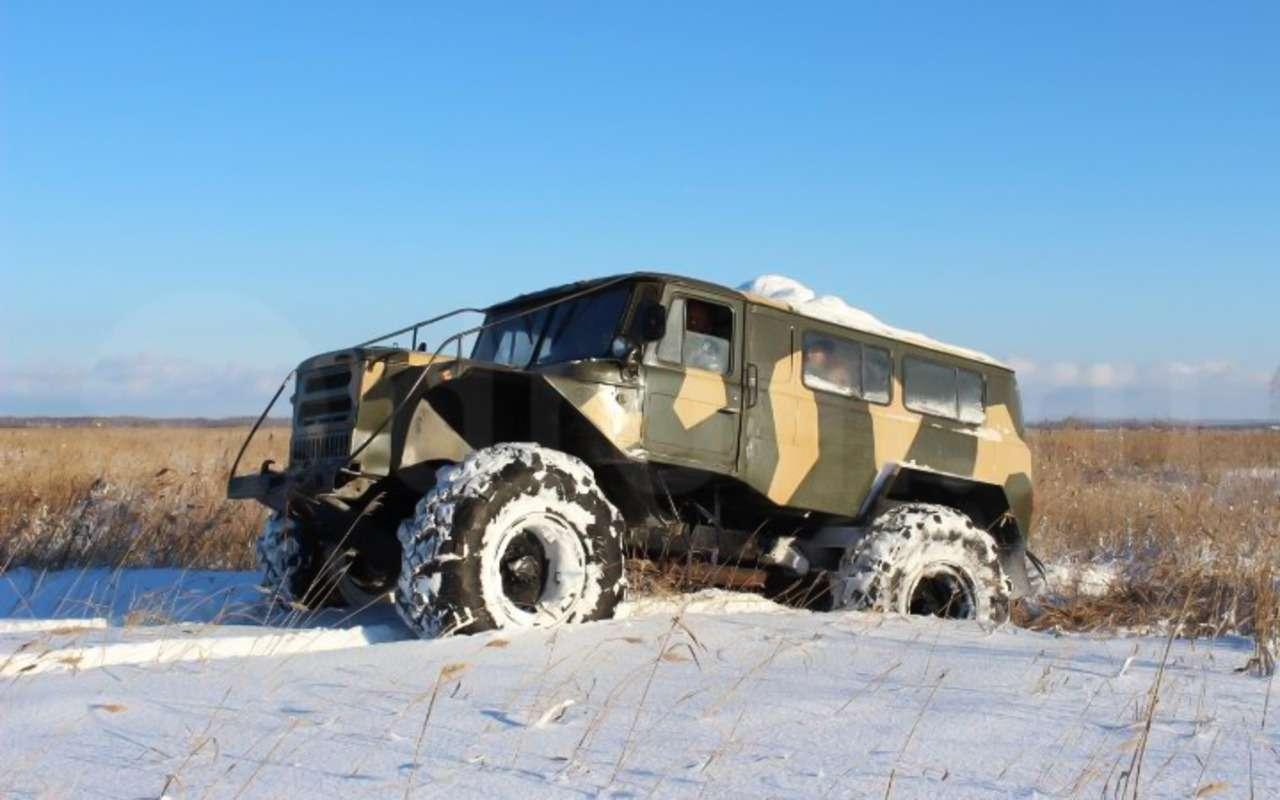 15крутых вездеходов набазе автомобилей ГАЗ— фото 914650