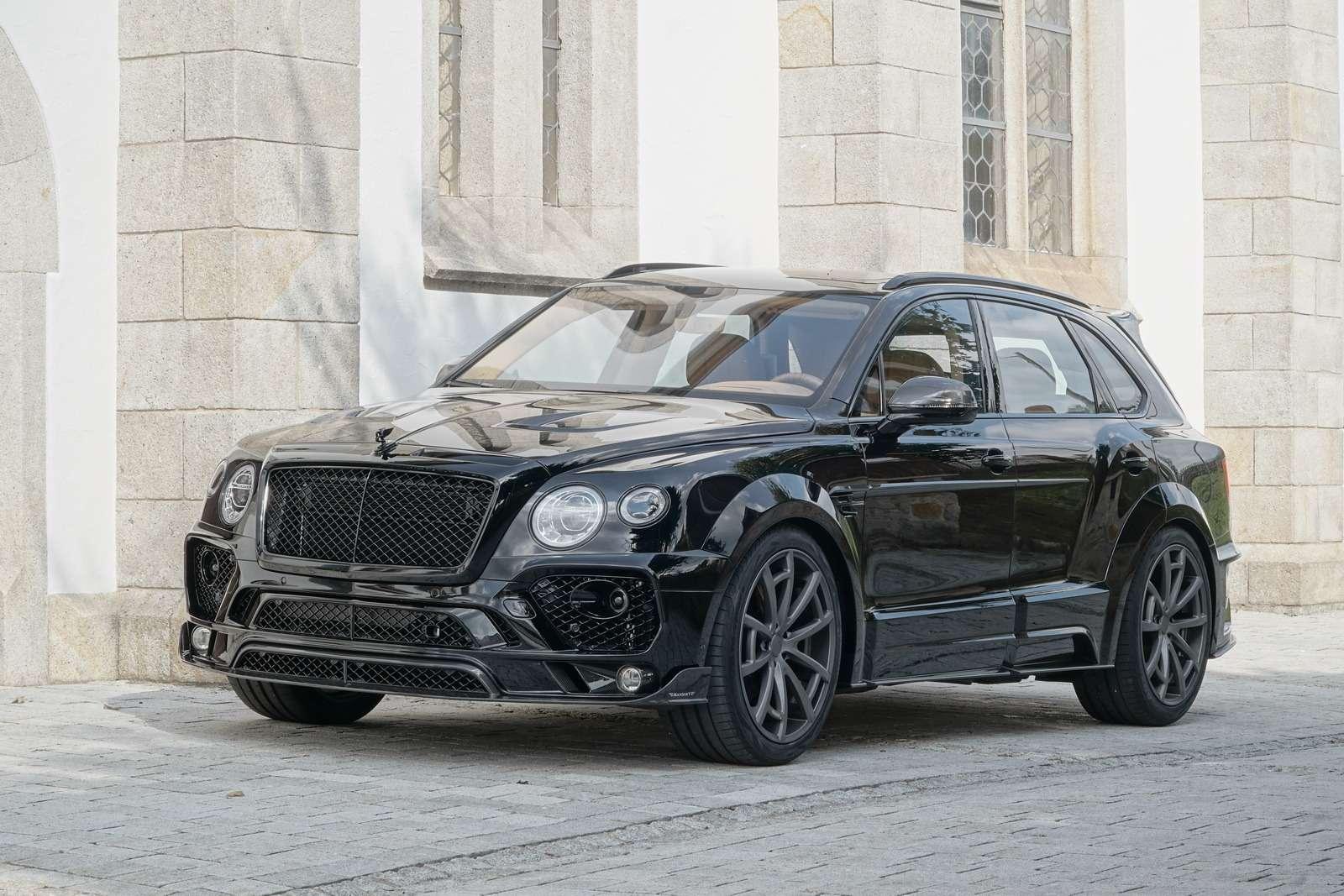 По-немецки: Bentley Bentayga экспериментирует симиджем