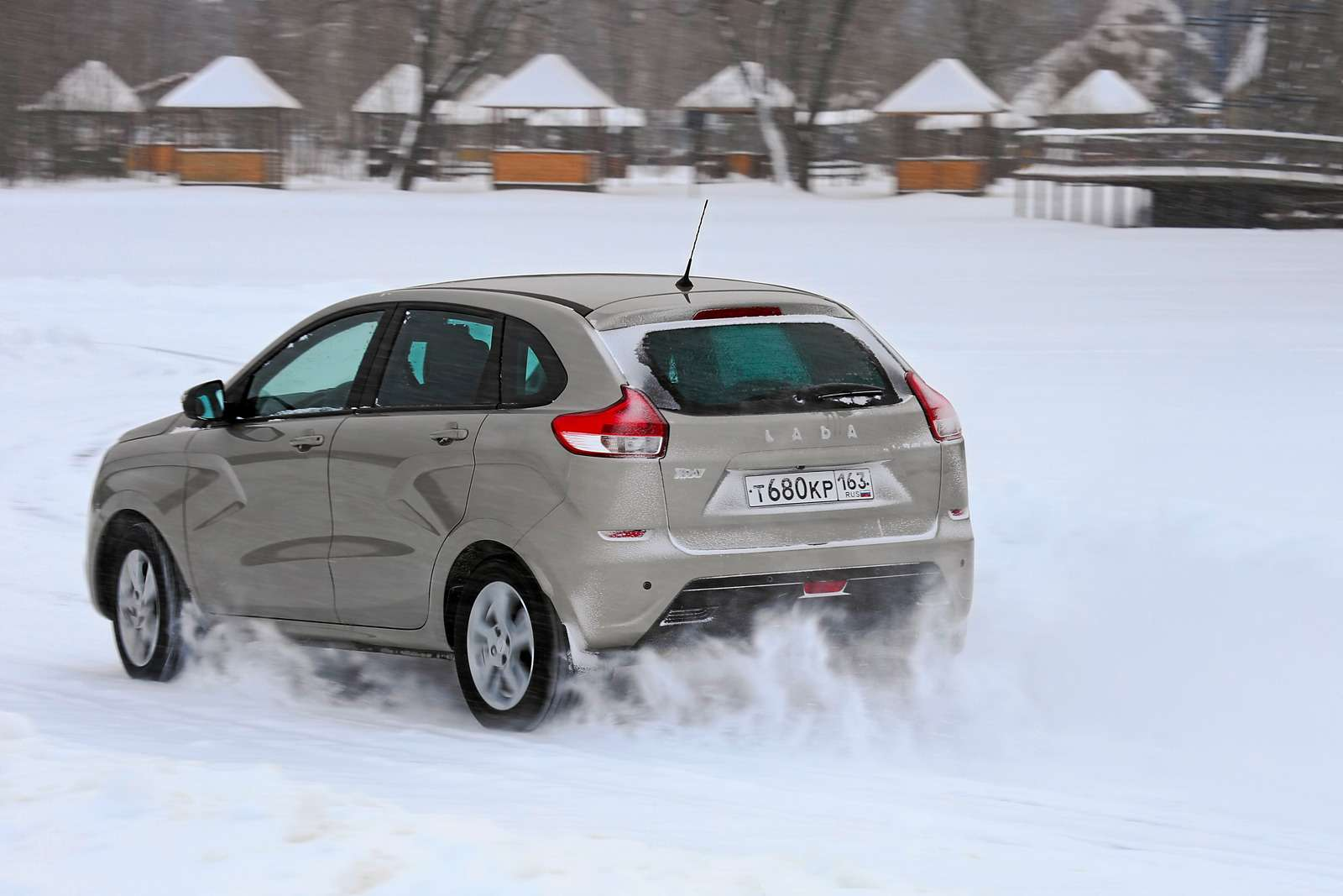 Большой зимний тест: Lada Vesta, Lada XRAY иDatsun mi-DO изпарка ЗР— фото 571451