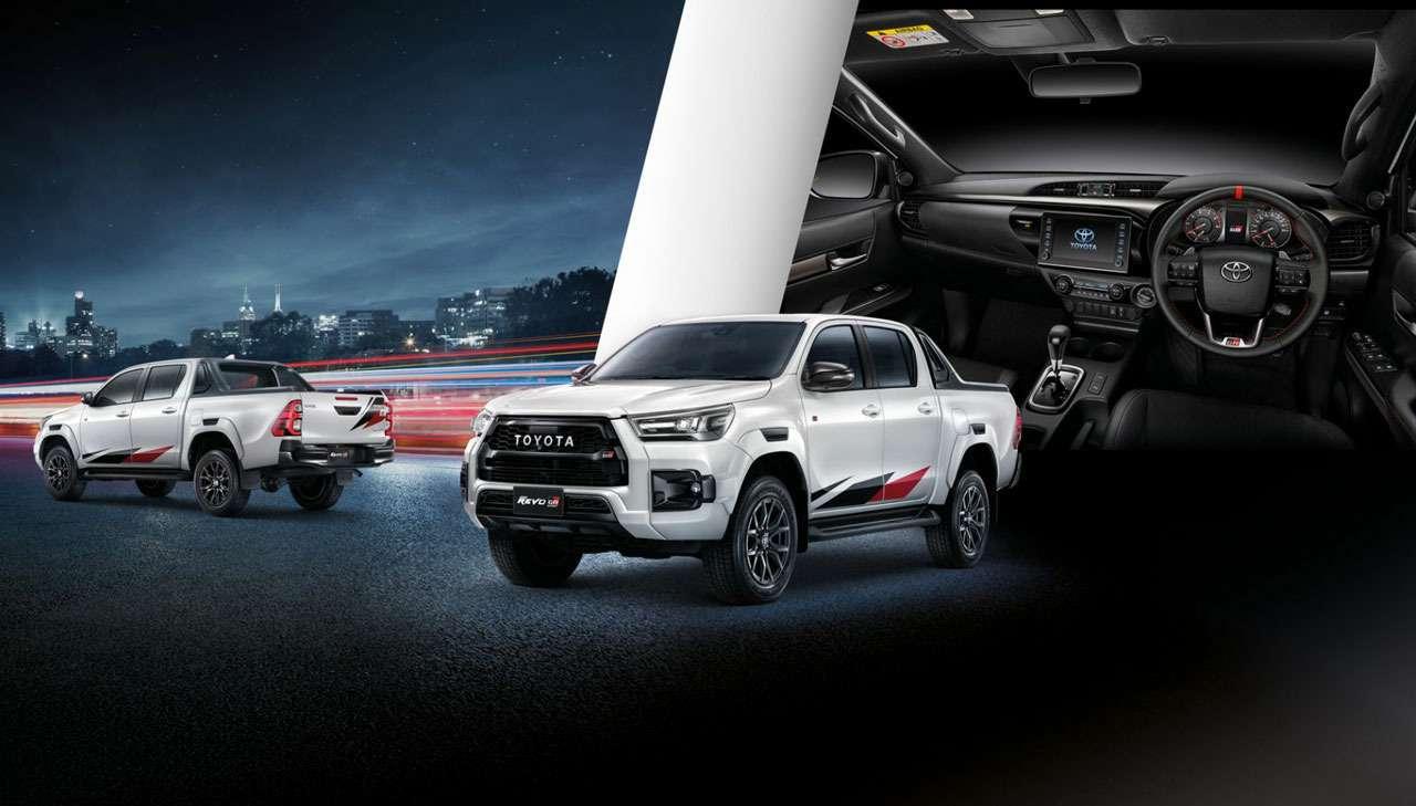 Toyota выпустила Hilux вспортивном обвесе— фото 1273022