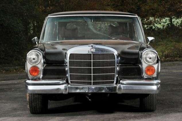 Ржавый Mercedes 600 1971 года выпуска ушел саукциона за445000 фунтов