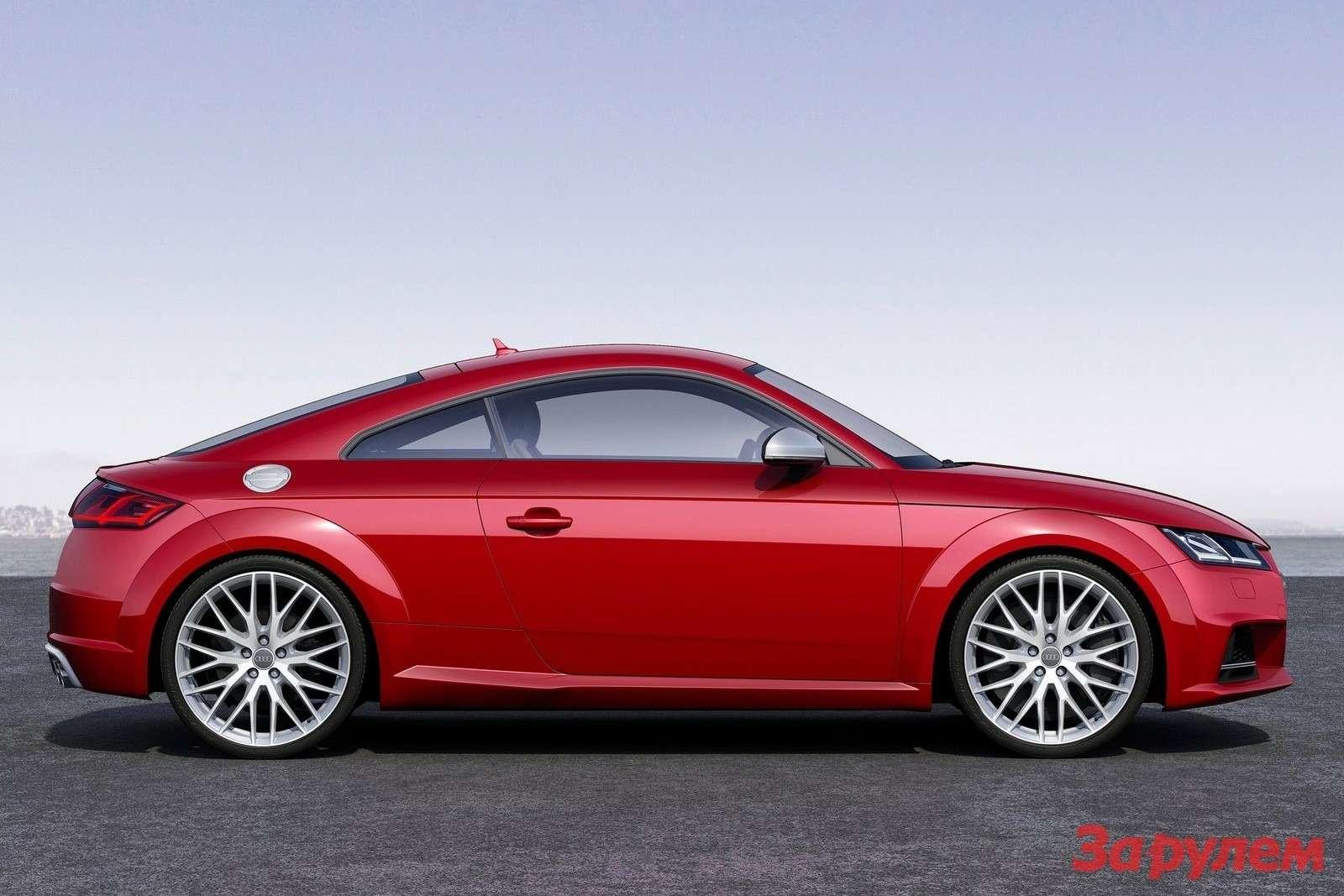 Audi TTS нового поколения