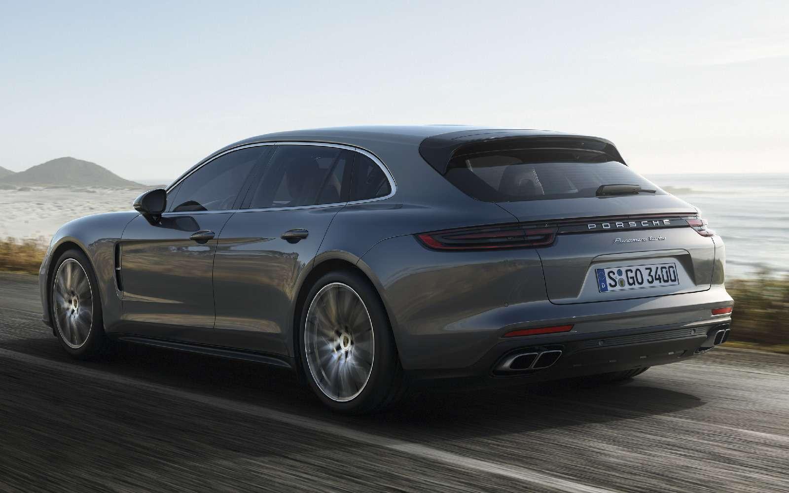 Porsche Panamera Sport Turismo: наконец-то «сарай»!— фото 714925