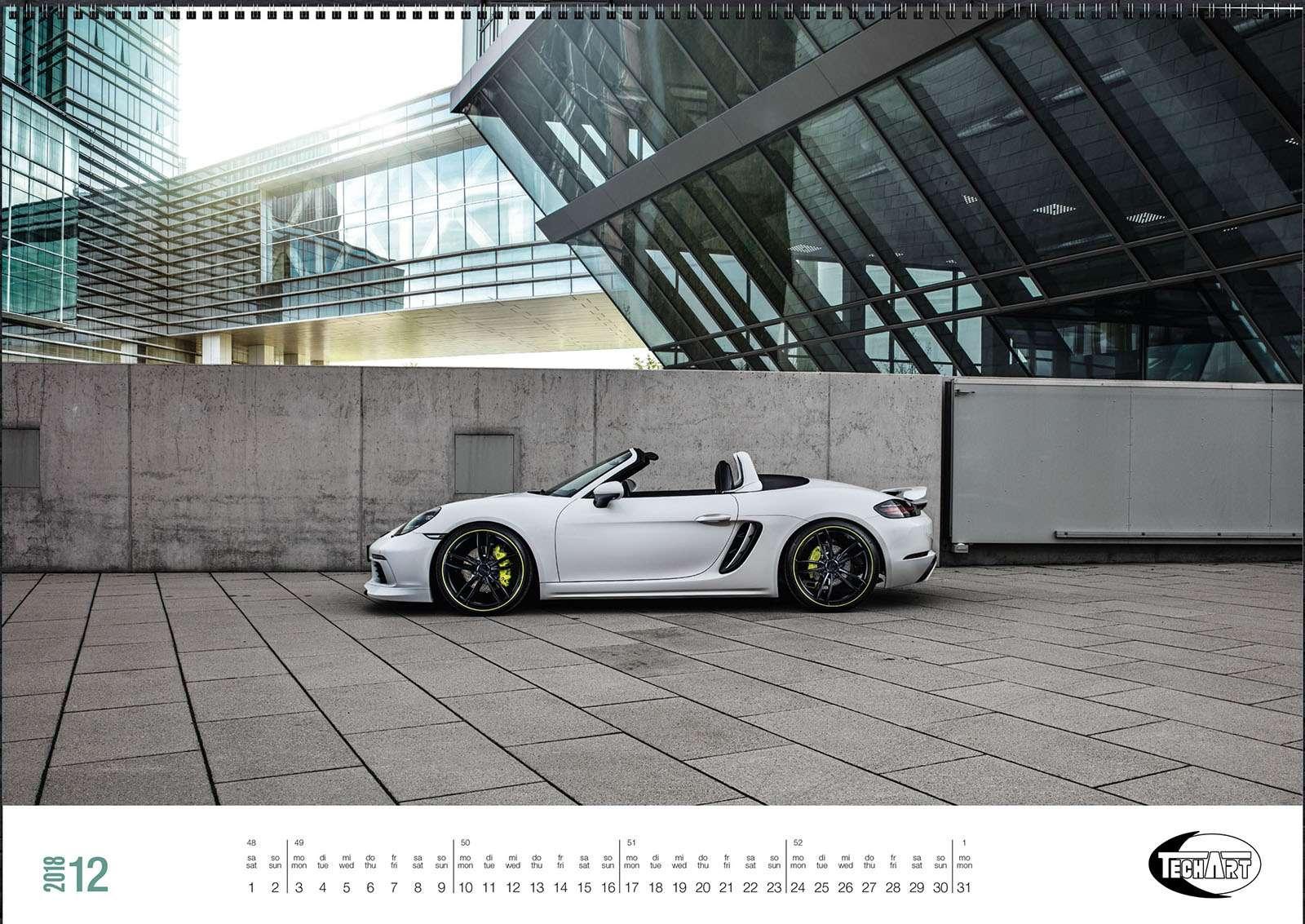 Только красивые машины: календарь Techart— фото 826399