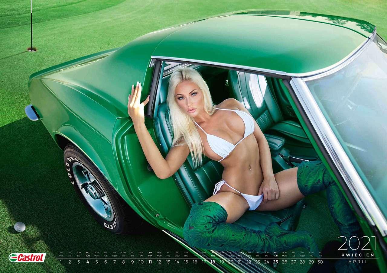В мире машин ицветов: польские красотки обнажились длякалендаря— фото 1209445
