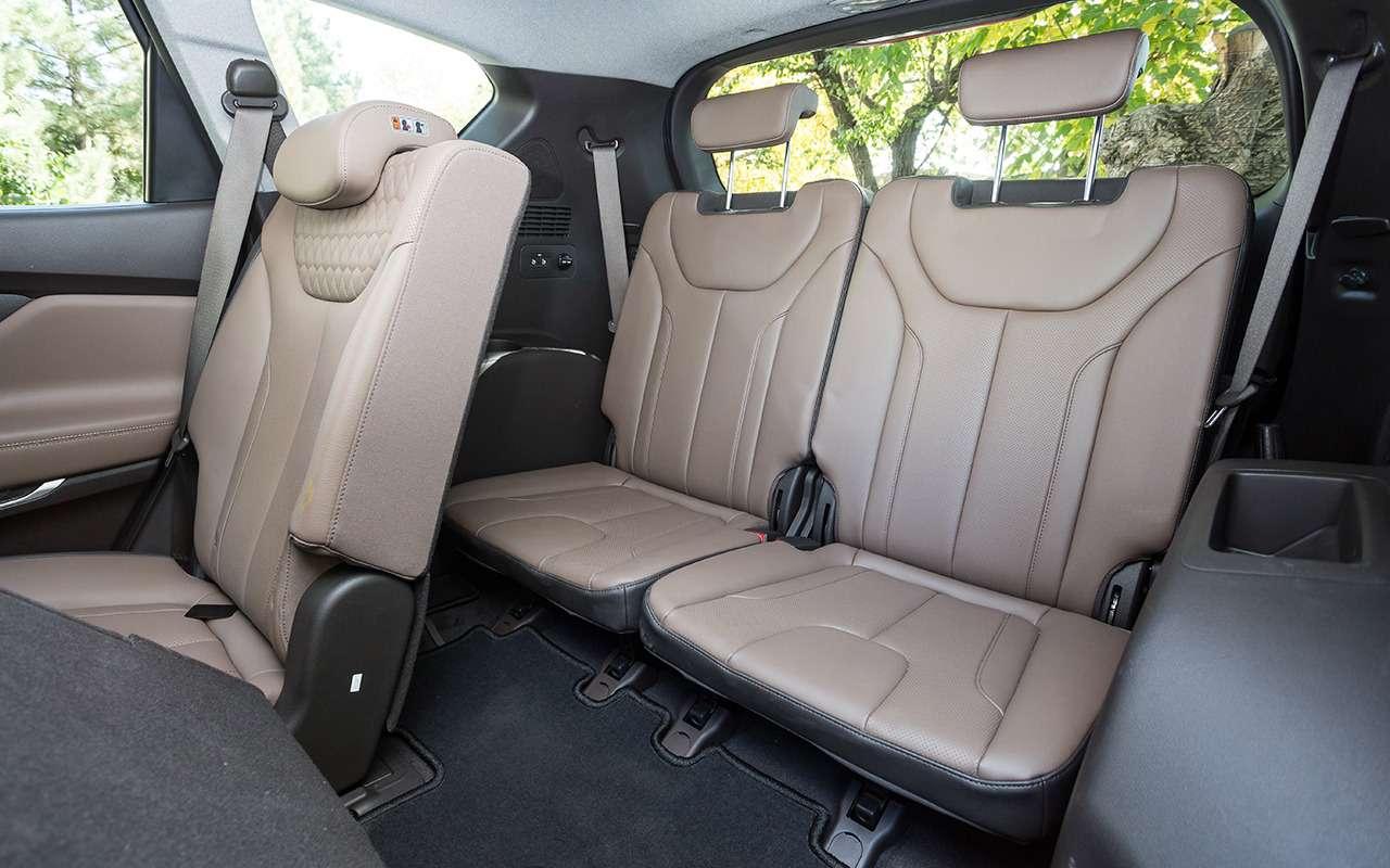 Hyundai Santa Fe: 5плюсов и2особенности, которые нужно учесть перед покупкой— фото 920733