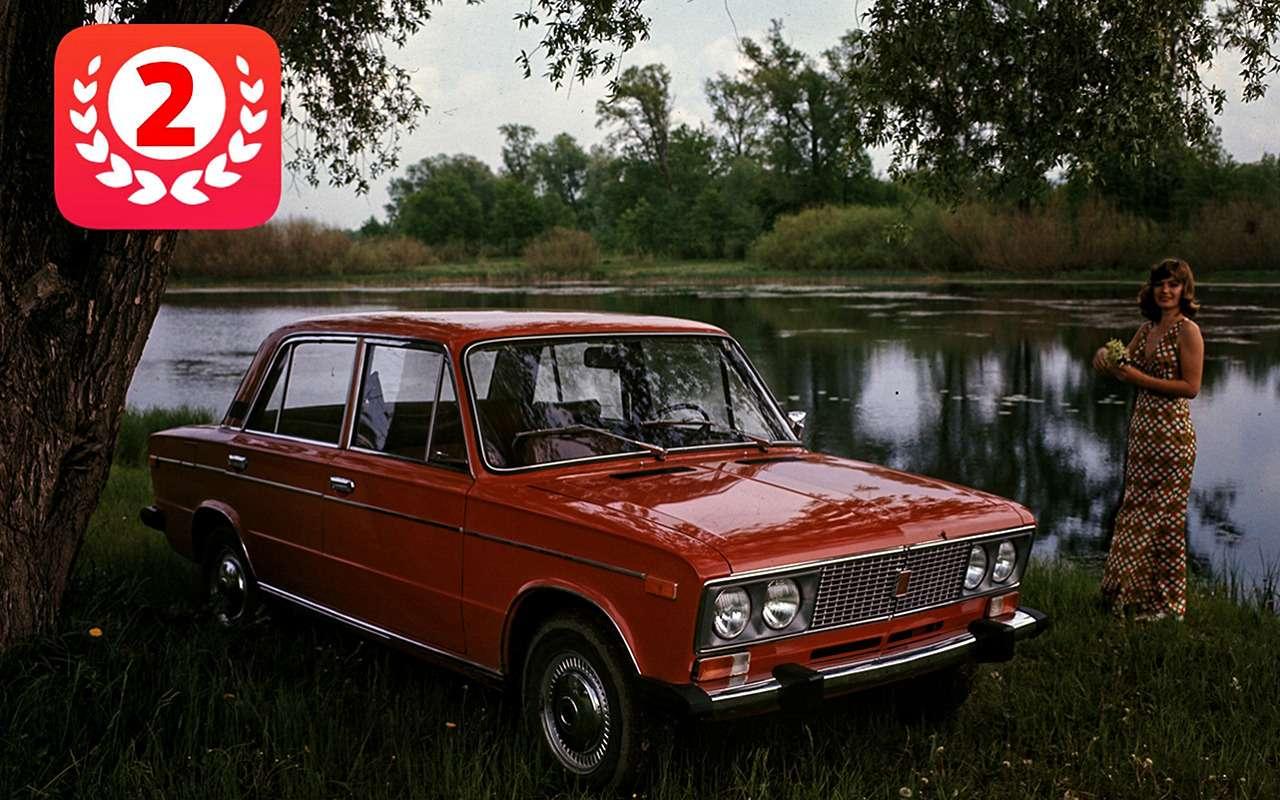 Самые продаваемые автомобили вистории нашей страны— фото 825699