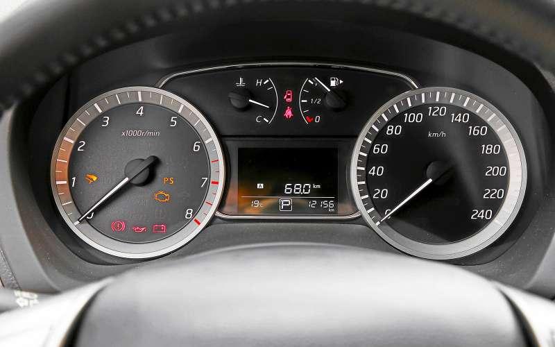 Приборы Nissan Sentra