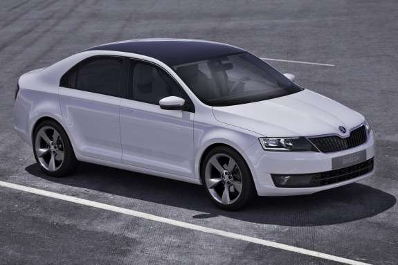 Skoda MissionL Concept side-front view