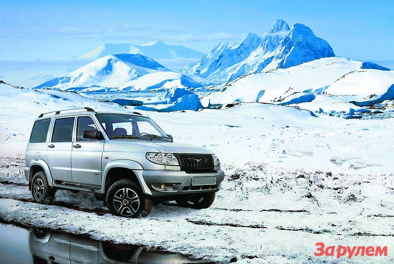 UAZ Patriot Arctic
