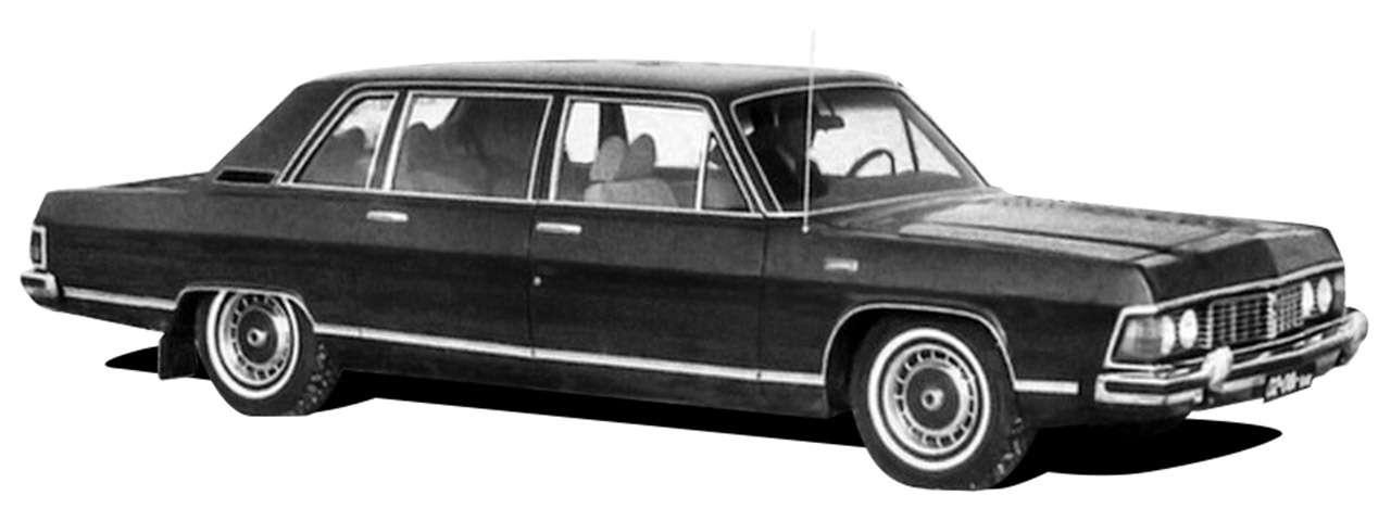 Тест машины, которую никогда непродавали: Чайка ГАЗ‑14— фото 998652