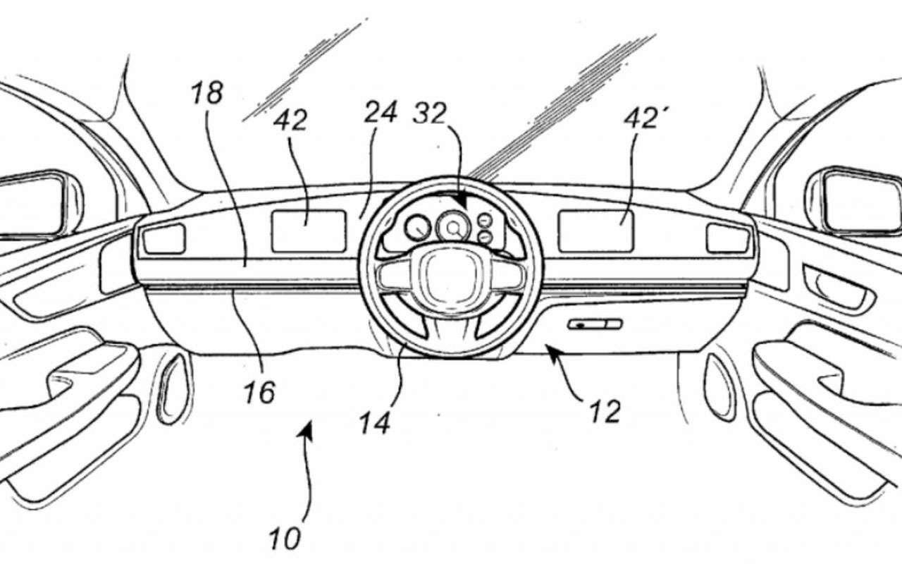 Запатентовано сдвижное рулевое колесо— фото 1182648