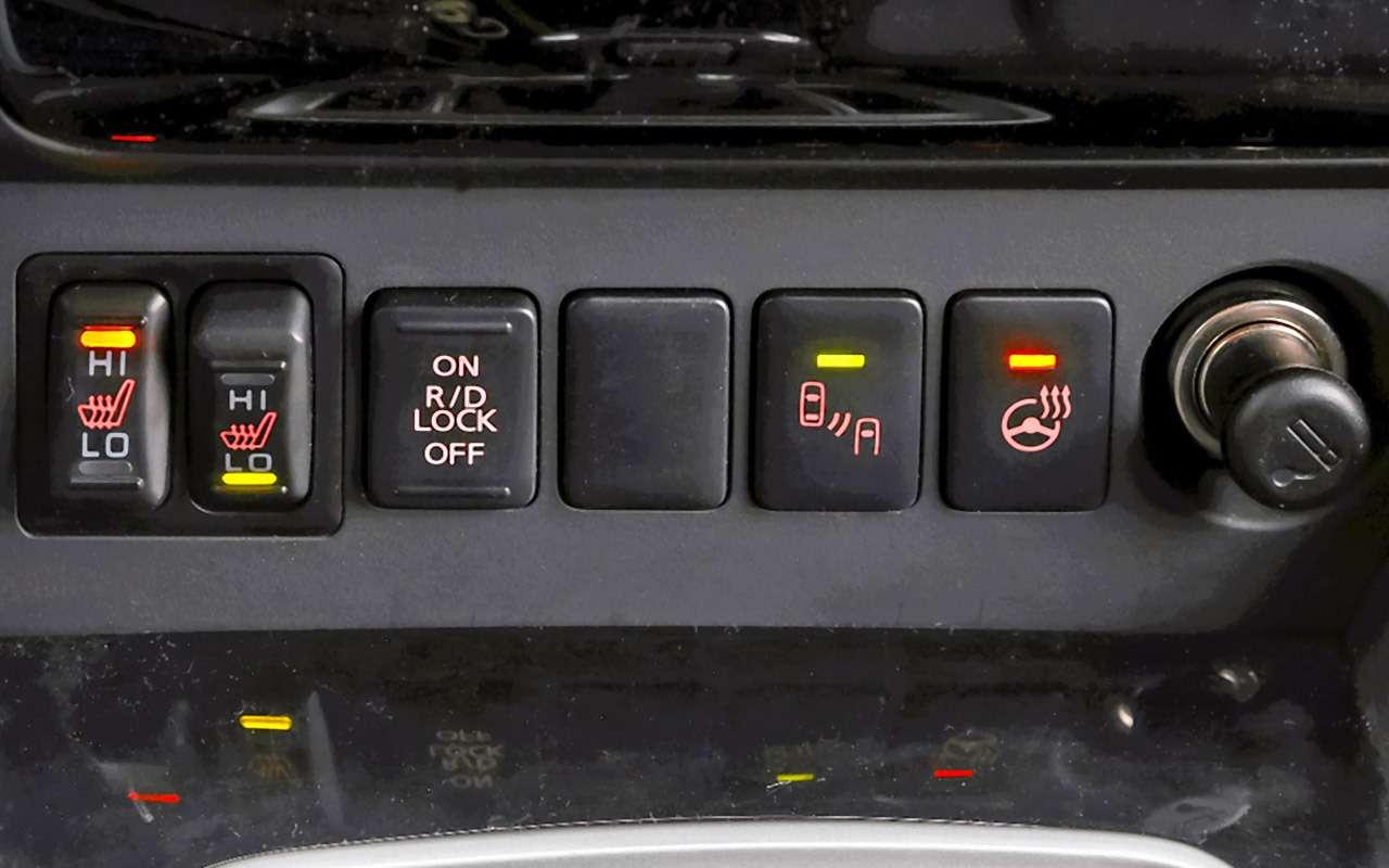 Toyota Fortuner, Mitsubishi Pajero Sport, Kia Mohave  — супертест — фото 855679