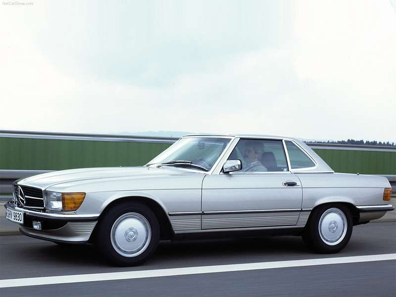 6 Mercedes Benz SLClass 1971no copyright