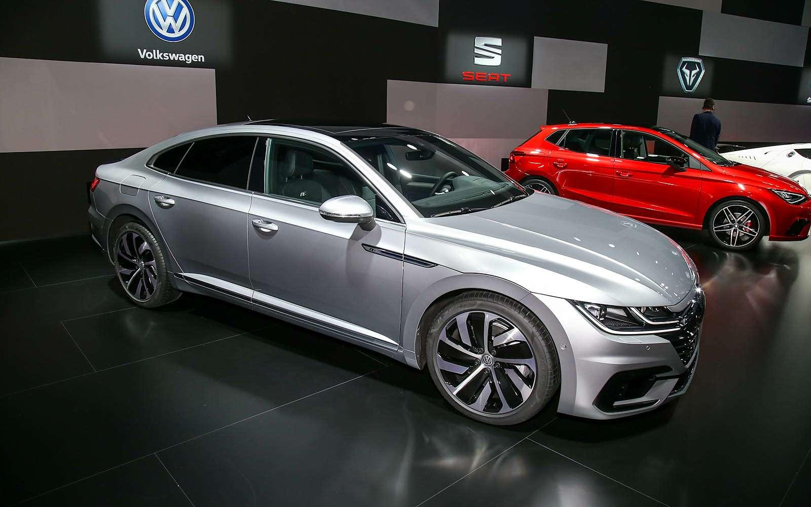 Volkswagen Arteon: это вам неЦе-Це!— фото 717539