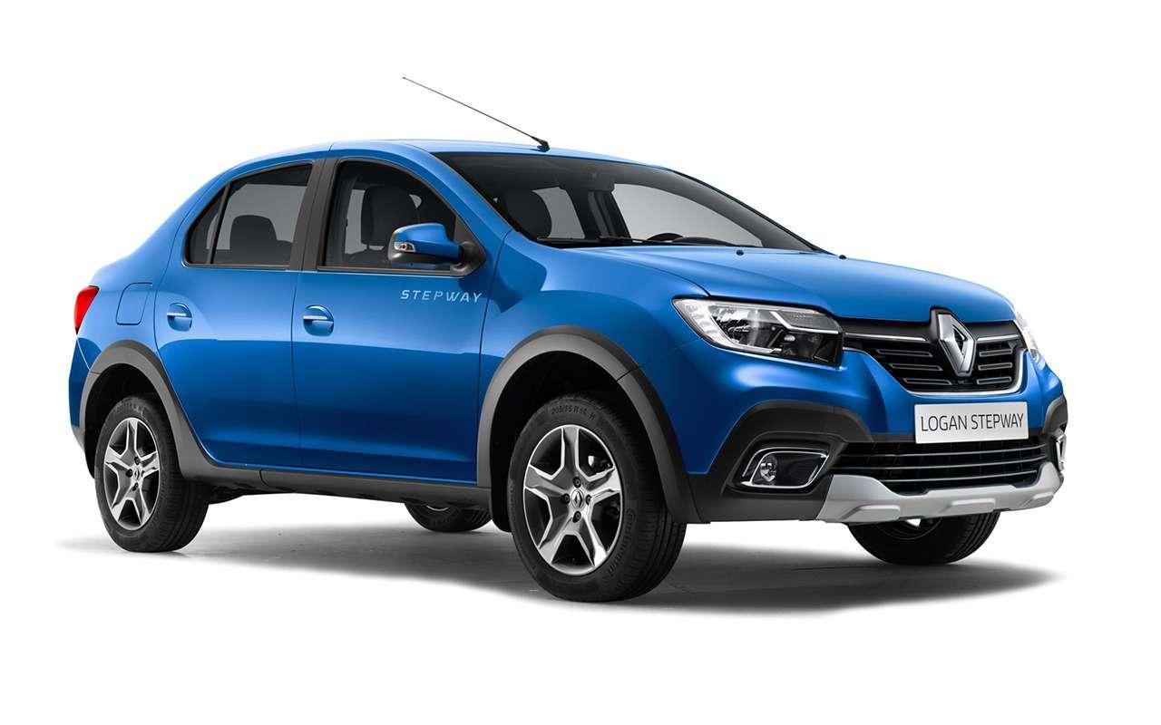 Lada Vesta Cross или Renault Logan Stepway— что выбрать?— фото 918562