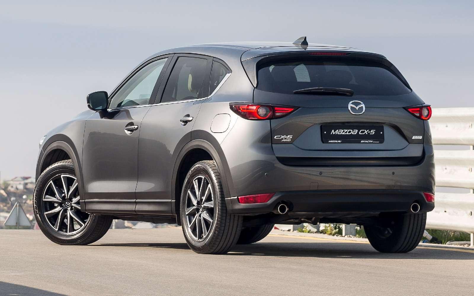 Mazda объявила рублевые цены накроссовер CX-5 второго поколения— фото 766915