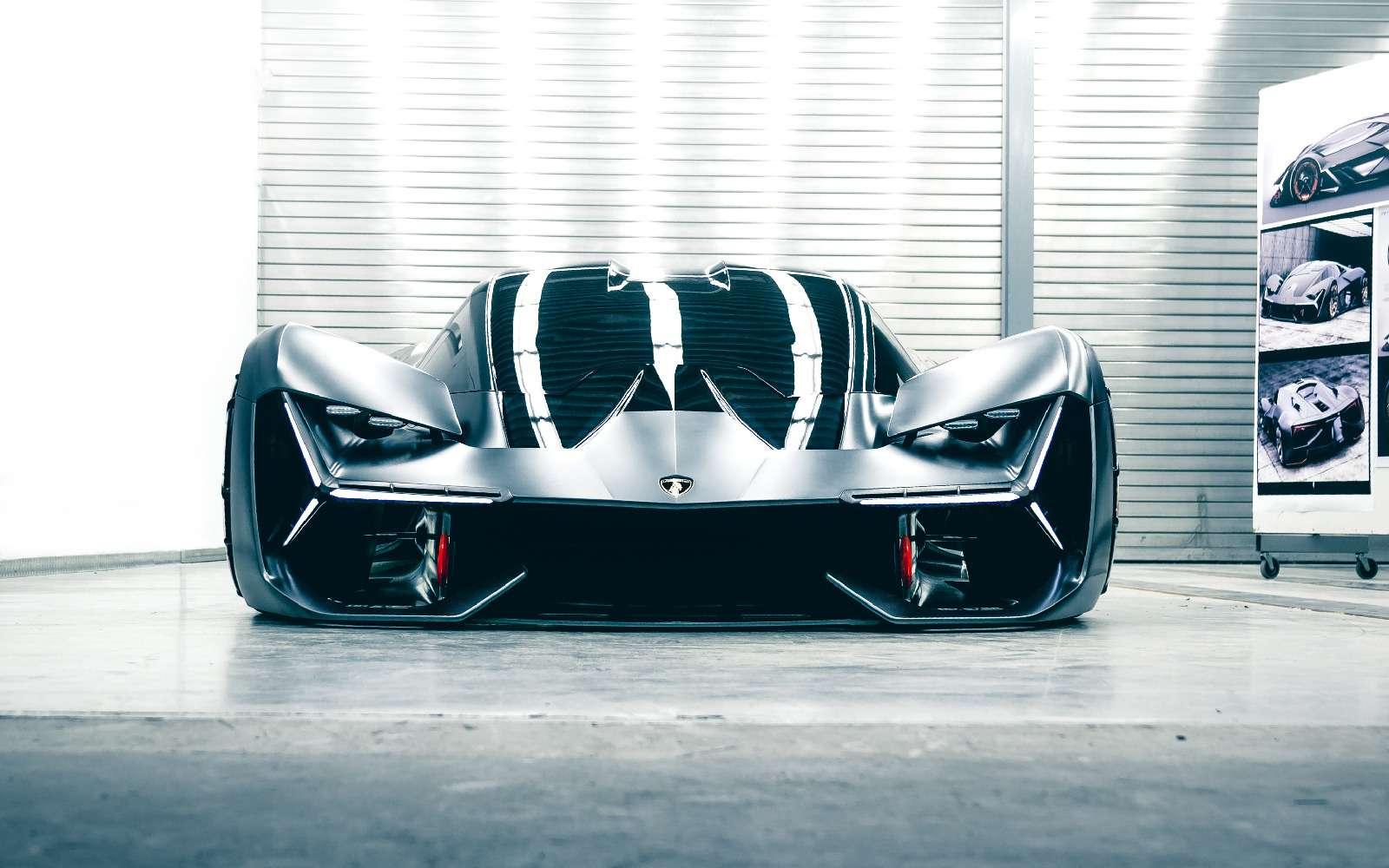 Lamborghini будущего: кузов-батарейка ссамовосстановлением— фото 813915