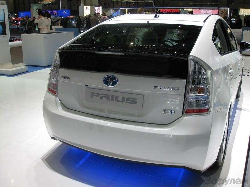 Toyota Prius III: Наголодном пайке— фото 92545