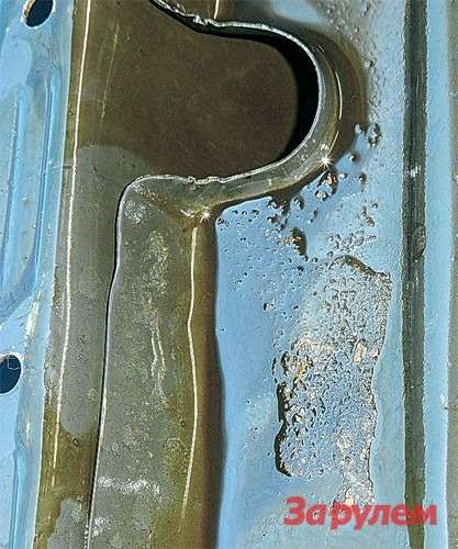 «Безвредный» порошок осел настенках масляной системы ввиде несмываемых твердых отложений.