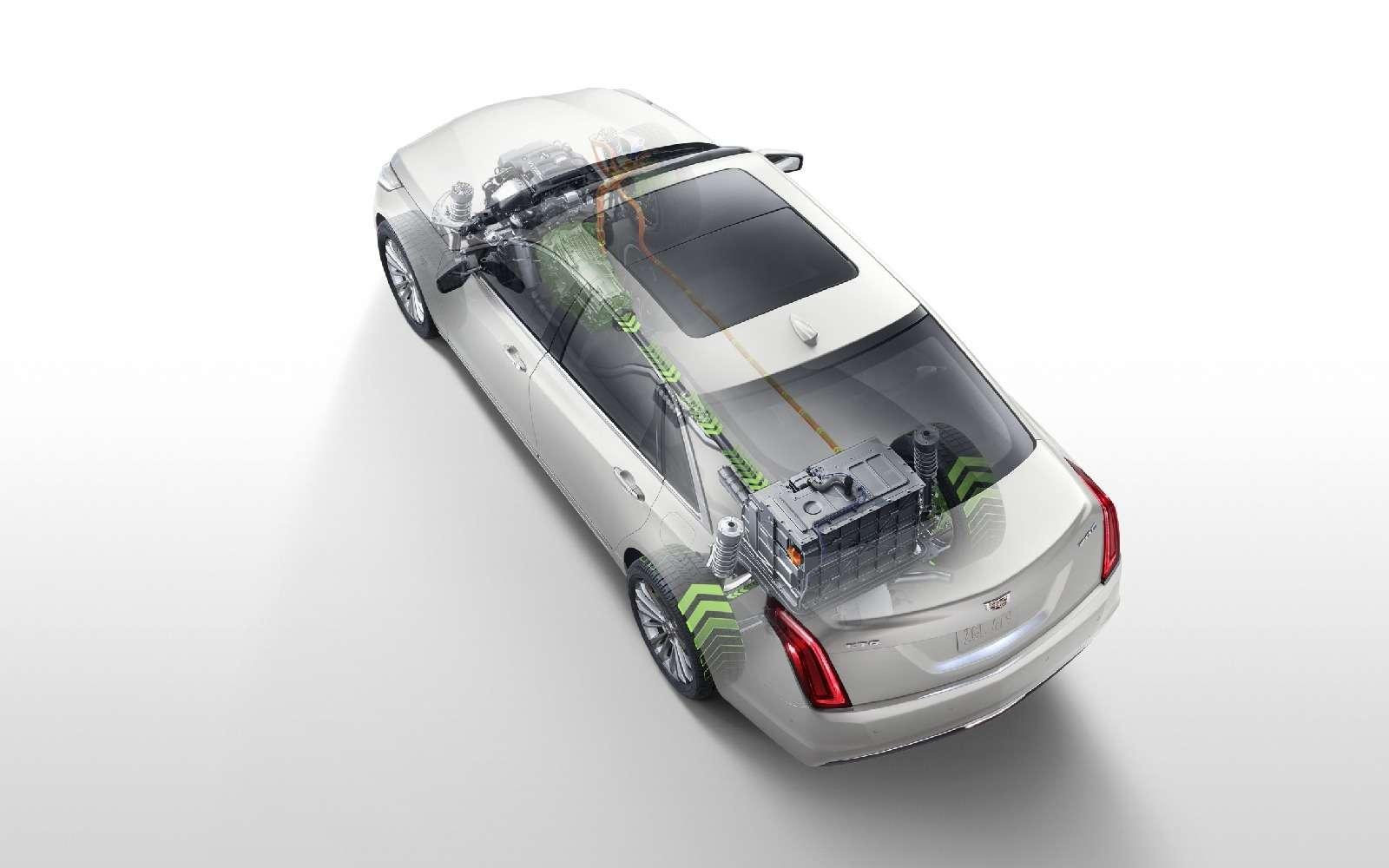 Самый высокотехнологичный Cadillac прибыл вАмерику изКитая— фото 664547
