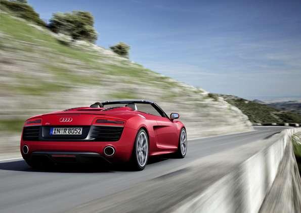 Audi R8Spyder V10/Fahraufnahme