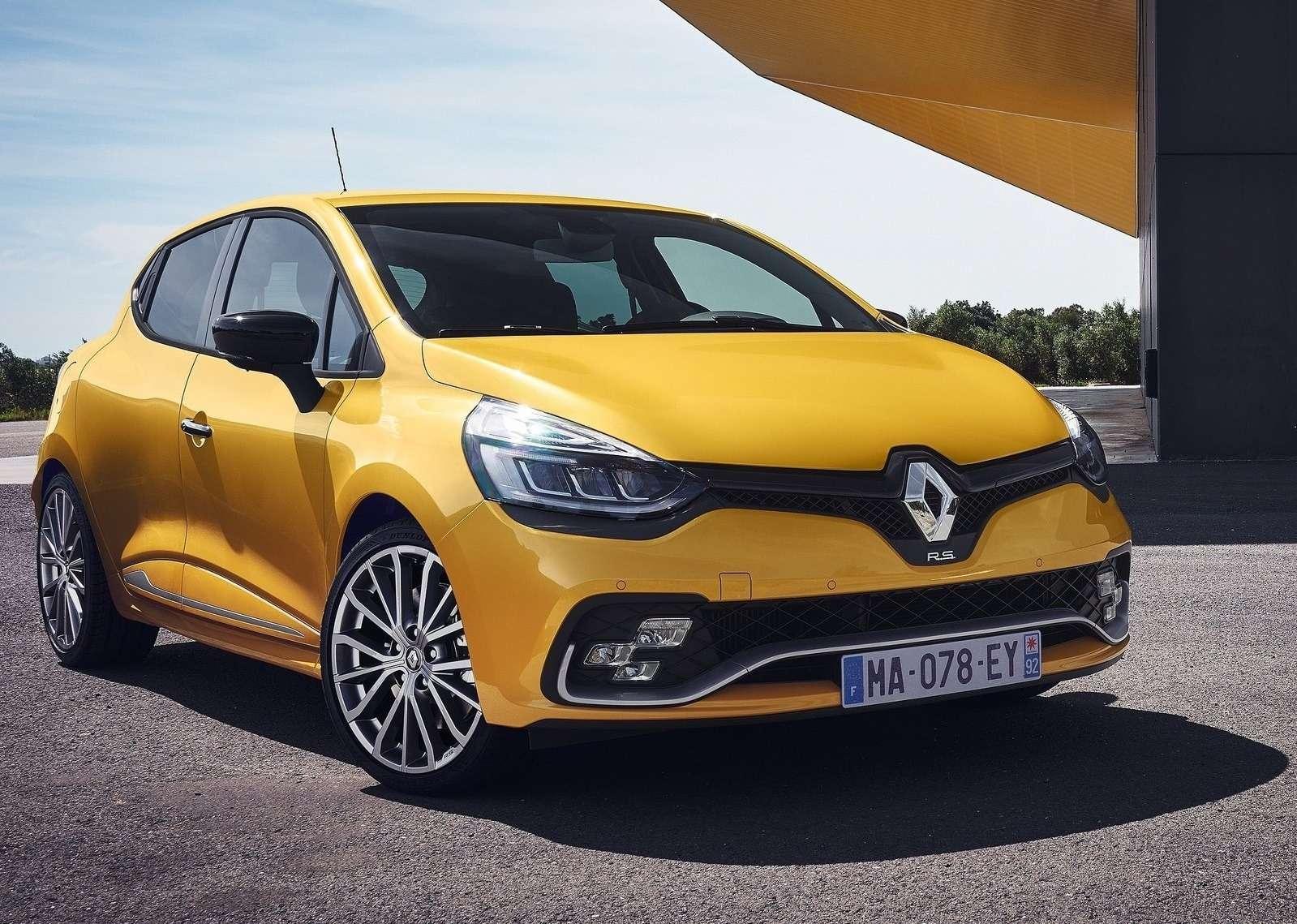 Рестайлинг созвуком: Renault Clio RSфокусируется наштрихах— фото 605413