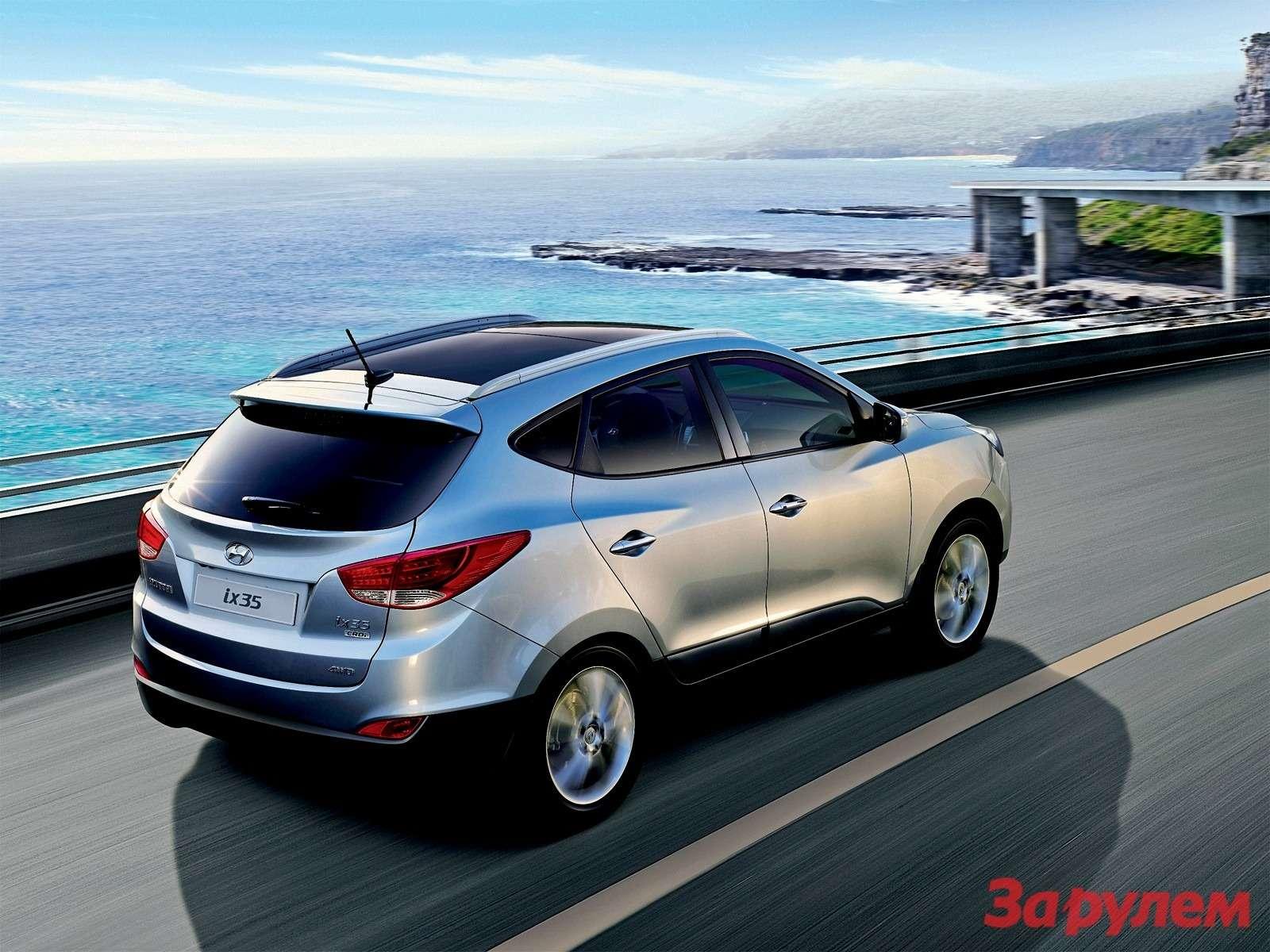 Hyundai ix35: Наследник миллионера— фото 113284