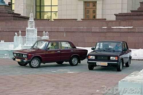 Тест ваз-21053, ваз-2106. пара «жигулевского». зр05/2005— фото 55829
