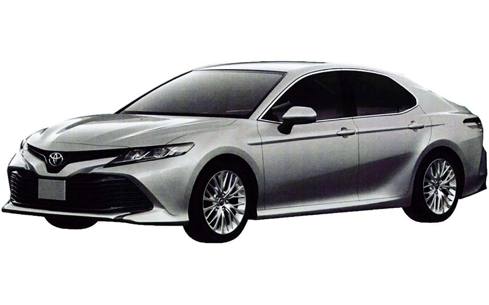 Новая Toyota Camry дляРоссии— первые изображения— фото 819227