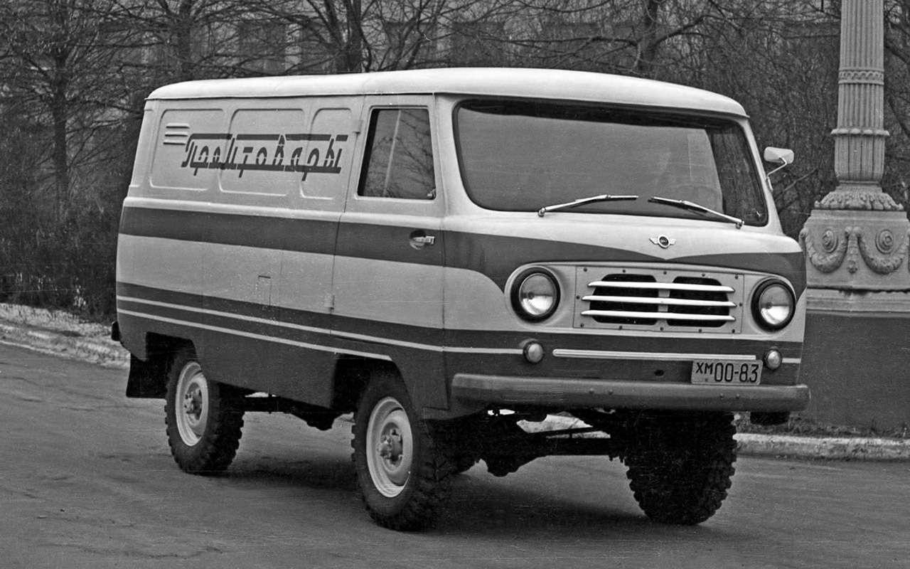Вкус «буханки»: полная история УАЗ-450— фото 1269680