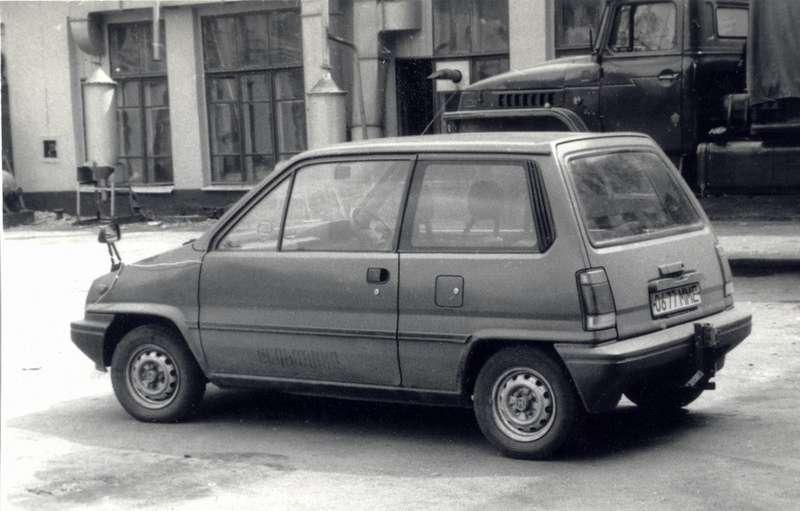 Honda City проходил испытания вНАМИ как аналог будущего ВАЗ-1111«Ока»