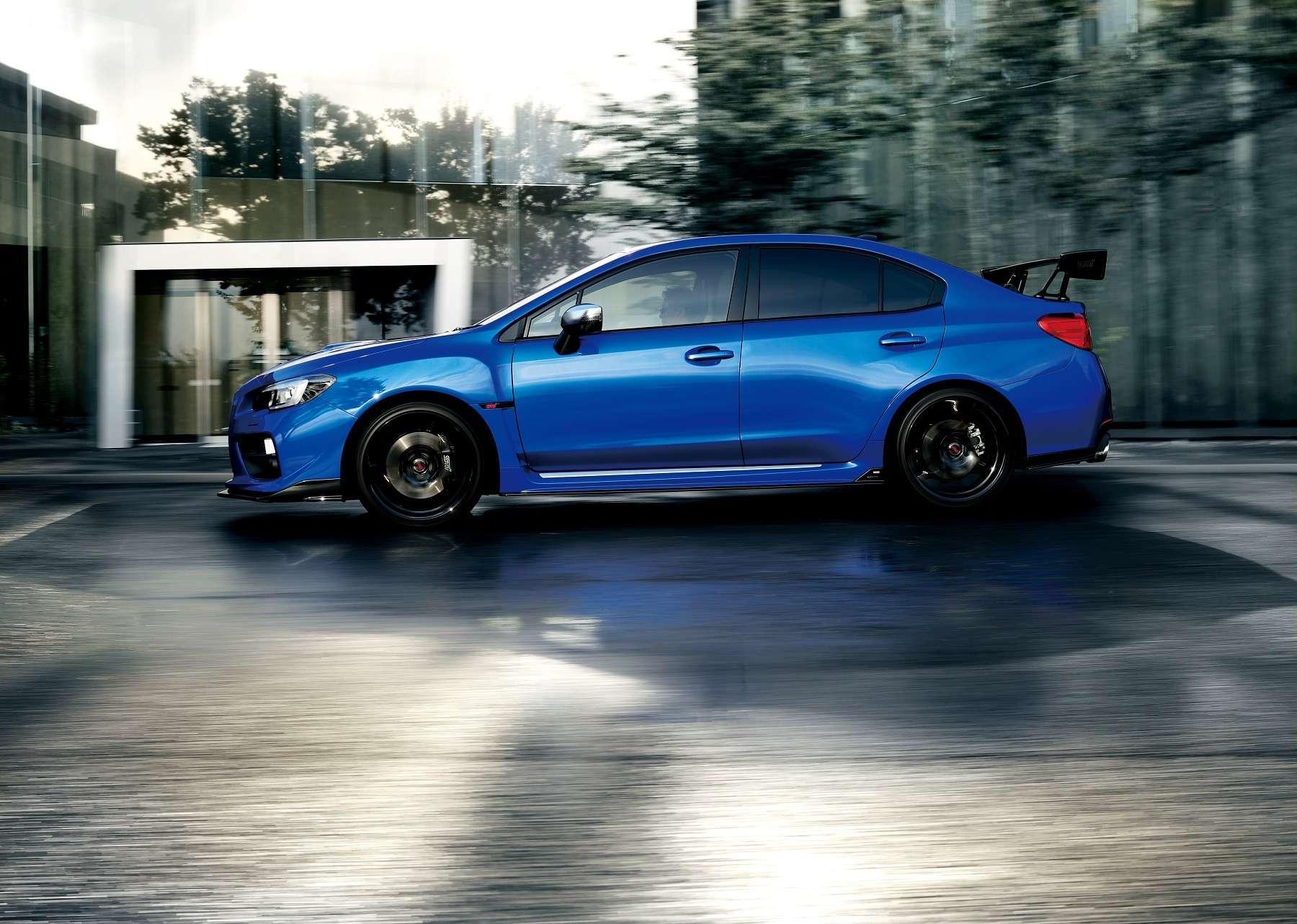 Subaru WRX S4tS грезит «Зеленым адом»— фото 644503