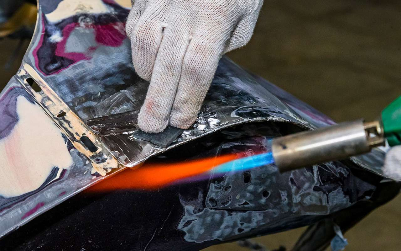 Каксэкономить накузовном ремонте— полузабытый способ— фото 964536