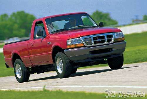 Американская версия Ford Ranger четвертого поколения.